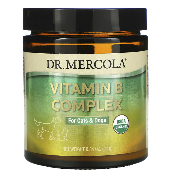 Vitamin B Complex, For Cats & Dogs, 0.84 oz (24 g)