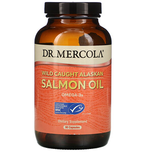 ДР. Меркола, Wild Caught Alaskan Salmon Oil, 90 Capsules отзывы покупателей