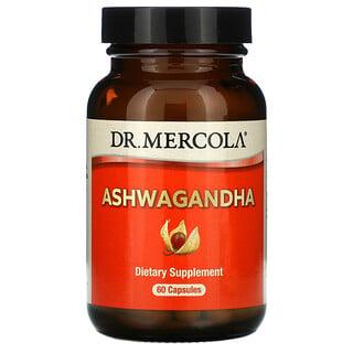 Dr. Mercola, Ginseng indio, 60cápsulas