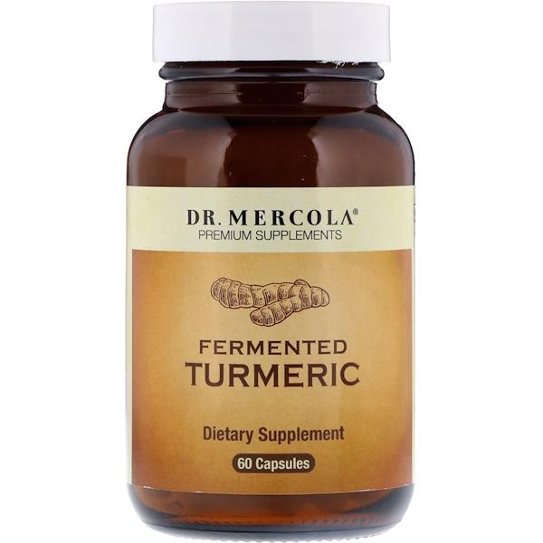 Dr. Mercola, Fermented Turmeric, 60 Capsules (Discontinued Item)