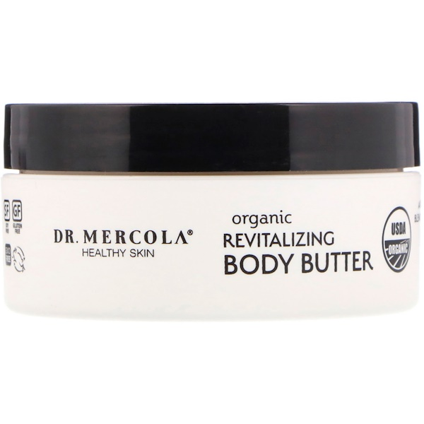 Dr. Mercola, Organic Revitalizing Body Butter, Sweet Orange, 4 oz