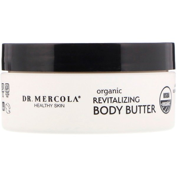 Organic Revitalizing Body Butter, Sweet Orange, 4 oz