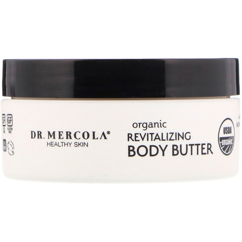 Organic Revitalizing Body Butter, Sweet Orange, 4 oz