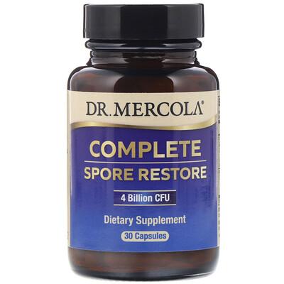 Купить Dr. Mercola Complete Spore Restore, 4млрд КОЕ, 30капсул