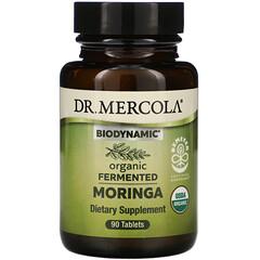 Dr. Mercola, Biodynamic,有機發酵辣木,90 片