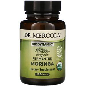 Dr. Mercola, Biodynamic, Organic Fermented Moringa, 90 Tablets