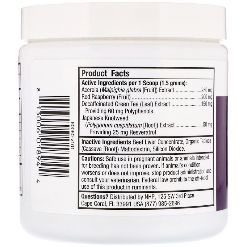 Dr. Mercola, Antioxidants, For Cats & Dogs, 4.76 oz (135 g) - photo 1