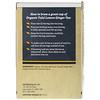 Dr. Mercola, オーガニック トゥルシー レモン ジンジャー、ハーブ茶、ティーバッグ18袋、1.27 oz (36 g)