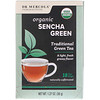 Dr. Mercola, Organic Sencha Green, Traditional Green Tea, 18 Tea Bags, 1.27 oz (36 g)