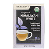 Dr. Mercola, شاي الهيمالايا الأبيض العضوي، 18 كيس شاي، 1.27 أونصة (36 غرام)