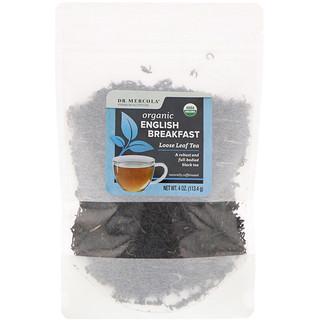 Dr. Mercola, Organic English Breakfast, Loose Leaf Tea, 4 oz (113.4 g)