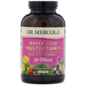 ДР. Меркола, Whole-Food Multivitamin Plus Vital Minerals for Women, 240 Tablets отзывы покупателей