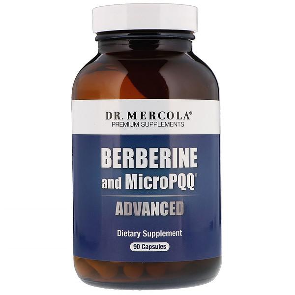 Dr. Mercola, Berberine with MicroPPQ Advanced, 90 Capsules