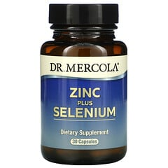 Dr. Mercola, 鋅 + 硒,30 粒膠囊