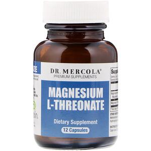 ДР. Меркола, Magnesium L-Threonate, 12 Capsules отзывы покупателей