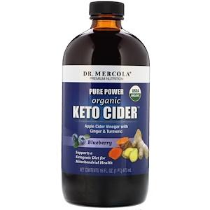 ДР. Меркола, Organic Keto Cider, Blueberry, 16 oz (473 ml) отзывы