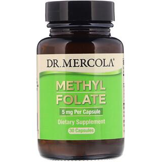Dr. Mercola, Methyl Folate, 5 mg, 30 Capsules