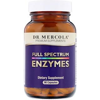 Dr. Mercola, Enzymes, Full Spectrum, 90 Capsules