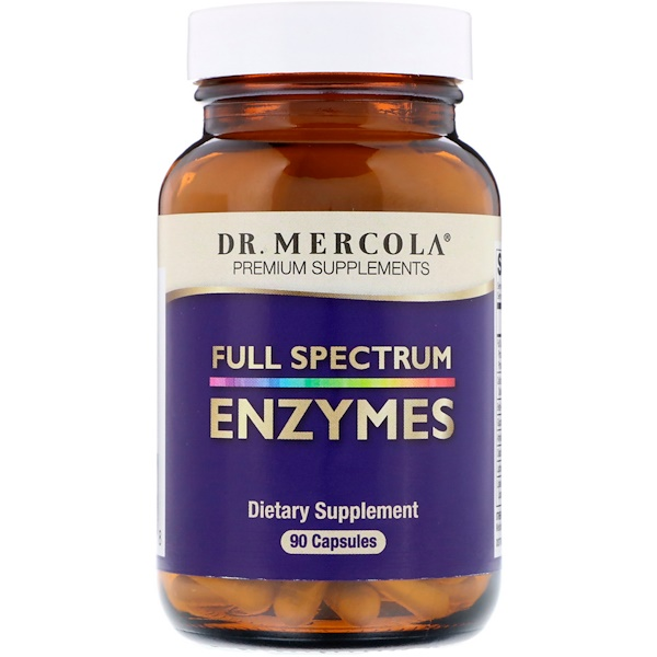 Enzymes, Full Spectrum, 90 Capsules