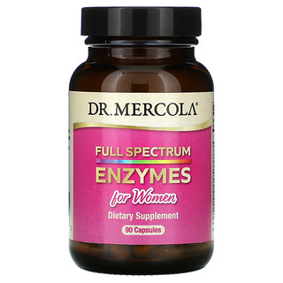 Dr. Mercola, Full Spectrum Enzymes for Women, 90 Capsules