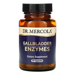 Dr. Mercola, 膽囊酶,30 粒膠囊