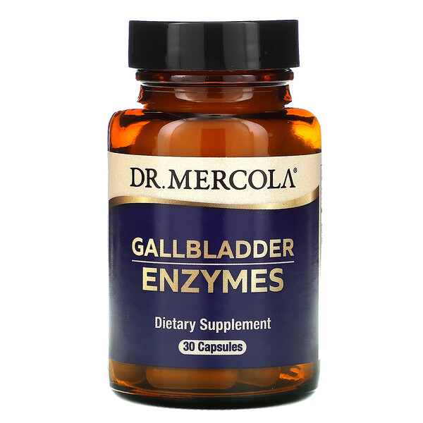 Dr. Mercola, Gallbladder Enzymes, 30 Capsules