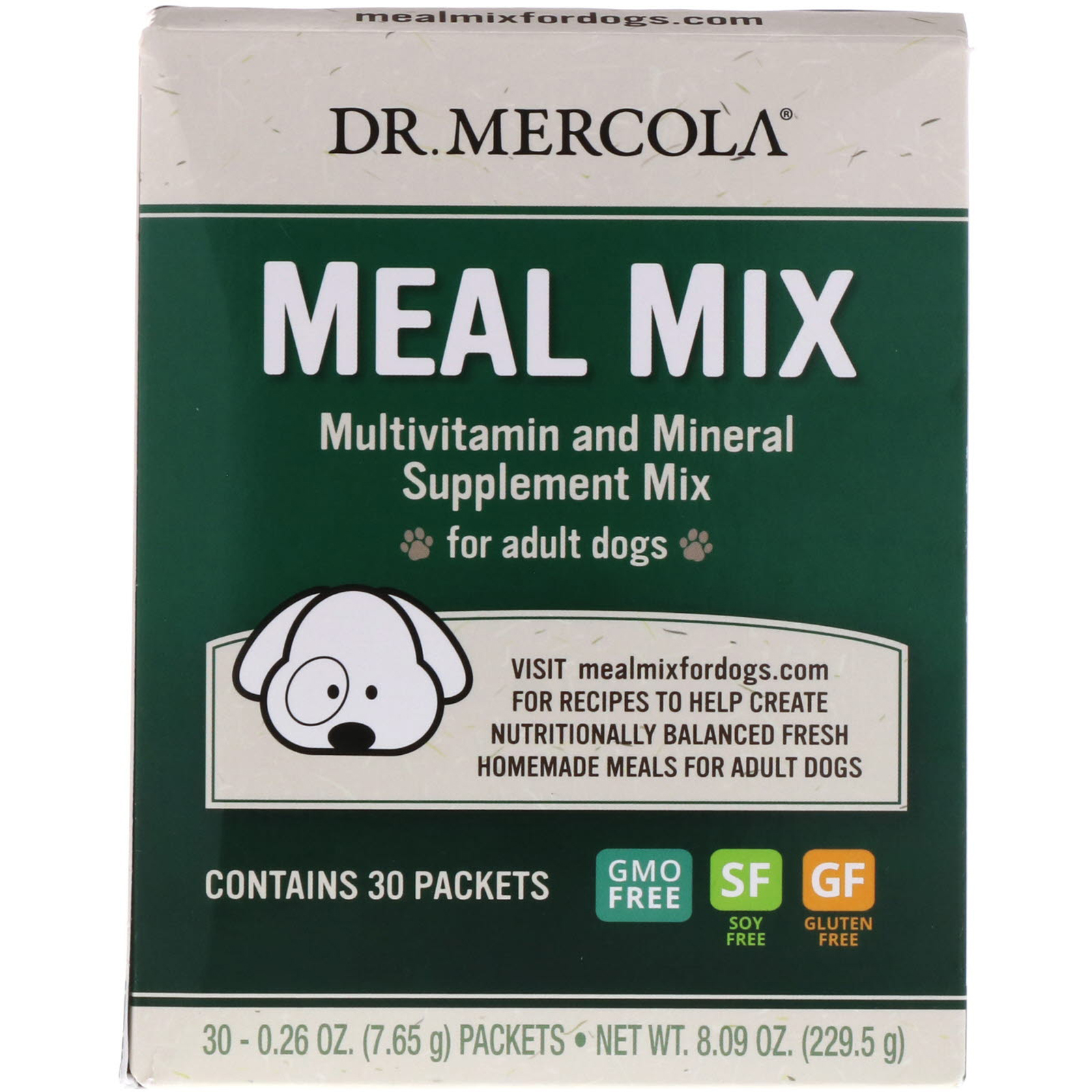 Dr. Mercola, Meal Mix, Multivitamin and