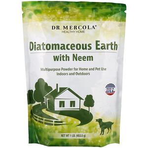 ДР. Меркола, Diatomaceous Earth with Neem, 1 lb (453.5 g) отзывы