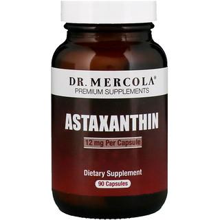 Dr. Mercola, Астаксантин, 12 мг, 90 капсул