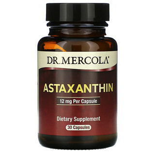 Dr. Mercola, Astaxanthin, 12 mg, 30 Capsules