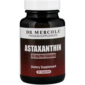 ДР. Меркола, Astaxanthin, 12 mg, 30 Capsules отзывы