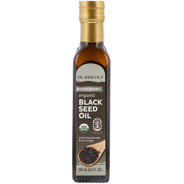 Biodynamic, Organic Black Seed Oil, 8.4 fl oz (250 ml)