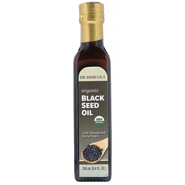Dr. Mercola, Biodynamic Organic Black Seed Oil, 8.4 fl oz (250 ml)