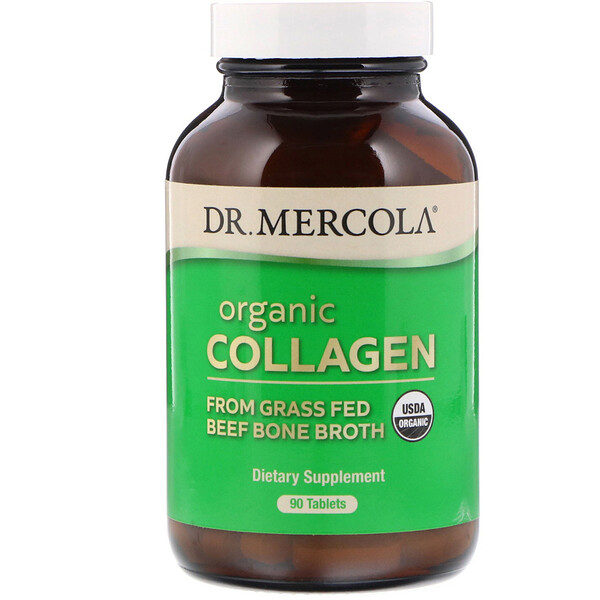 Organic Collagen, 90 Tablets