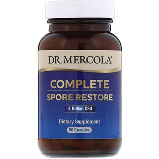Dr. Mercola, استعادة كاملة للأبواغ، 4 مليار وحدة تشكيل مستعمرة، 90 كبسولة