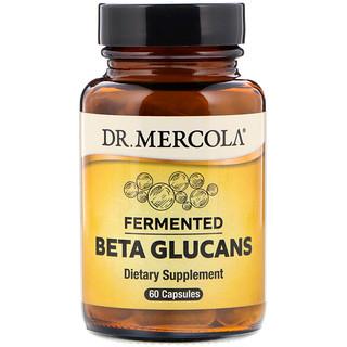 Dr. Mercola, Ферментированные бета-глюканы, 60 капсул