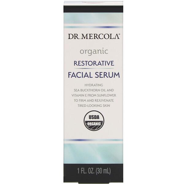 Soro Facial Restaurativo Orgânico, 1 fl oz (30 ml)