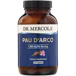 ДР. Меркола, Pau D'Arco, 1,000 mg, 120 Capsules отзывы покупателей