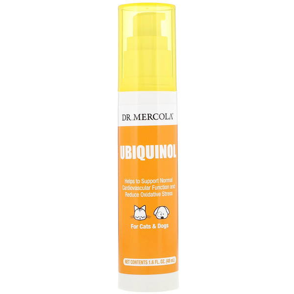 Dr. Mercola, Ubiquinol for Pets, 1.6 fl oz (48 ml)