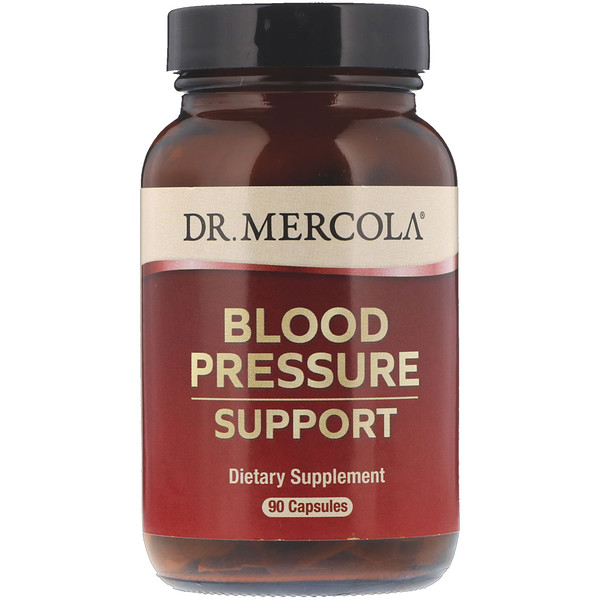 Dr. Mercola, Blood Pressure Support, 90 Capsules