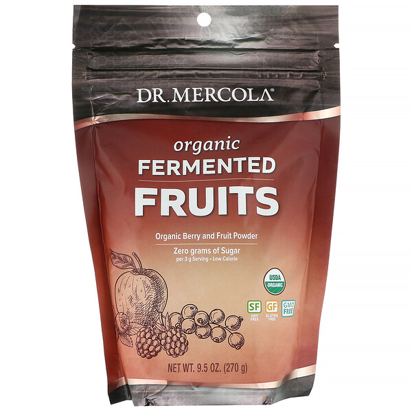 Organic Fermented Fruits, 9.5 oz (270 g)