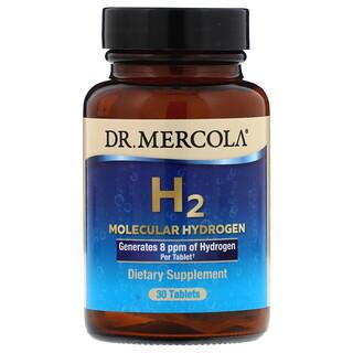 Dr. Mercola, H2 モジュラー ハイドロゲン(水素分子)、30粒