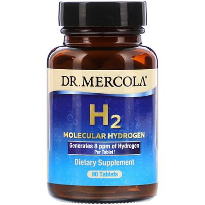 Купить Dr. Mercola H2 Molecular Hydrogen, 90 Tablets