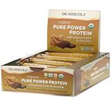 Dr. Mercola, 有機純能量蛋白棒,花生醬和巧克力,12 根,每根 1.83 盎司(52 克)