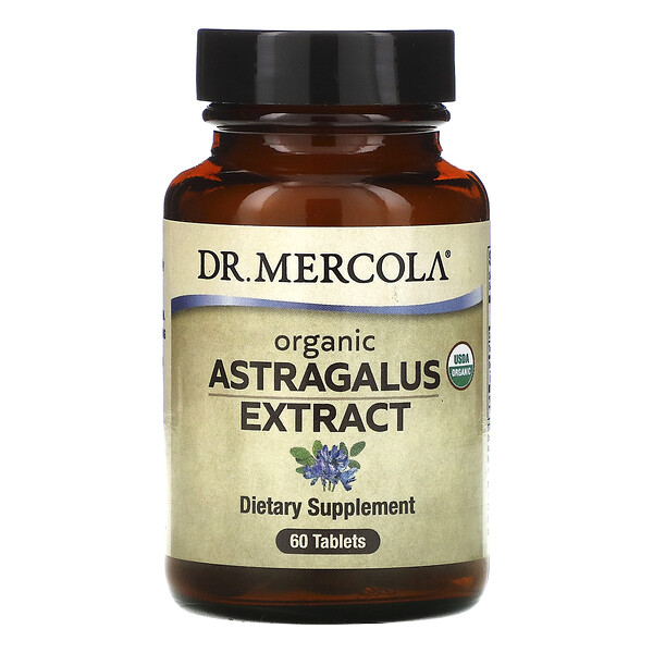 Organic Astragalus Extract, 60 Tablets