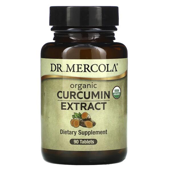 Organic Curcumin Extract, 90 Tablets