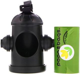 Dr. Mercola, Poop Bags Dispenser, Unscented, 15 Bags