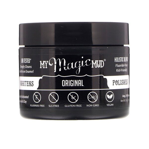 My Magic Mud, Whitening Tooth Powder, Original, 1.06 oz (30 g)