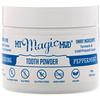 My Magic Mud, Polishing Tooth Powder with Turmeric & Cacao, Peppermint, 1.41 oz (40 g)