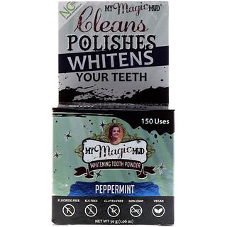 My Magic Mud, Whitening Tooth Powder, Peppermint, 1.06 oz (30 g)